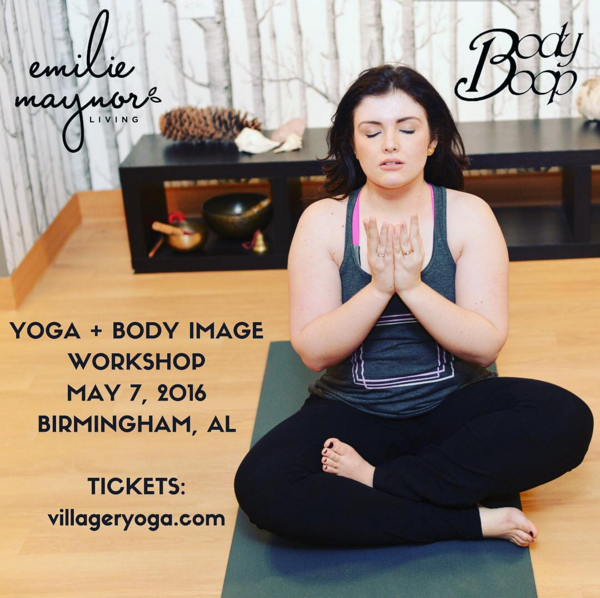 NOURISH: A Body Image Conversation with Body Boop and Emilie Maynor Living | Birmingham, AL | 5/7/16
